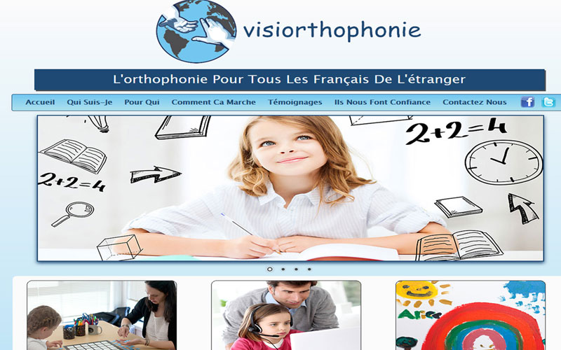 Visiorthophonie French Website