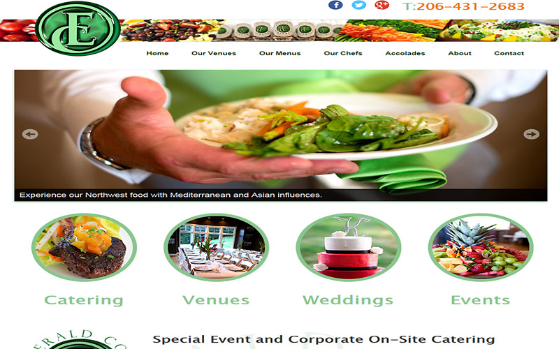 Visit Catering Sample