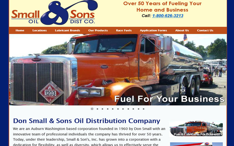 Small and Sons Oil Seattle