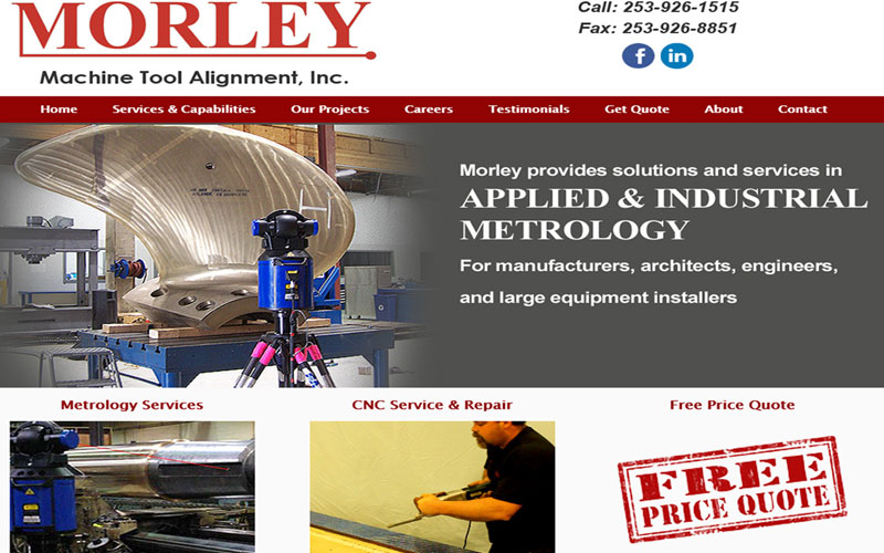 Morley Machine Tool Alignment Seattle