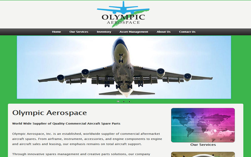 Olympic Aerospace Website