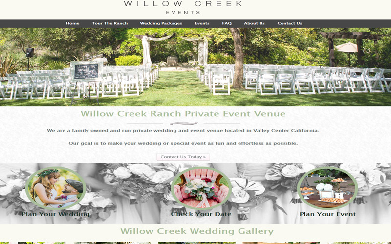 Willow Creek Event Venue