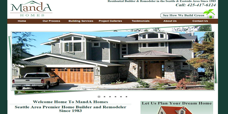 Awesome Contractor Website Design. Show ... Part 31